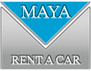 Rent a Car Maya Logo